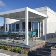 Art Deco home with Louvre Roof on the Westshore Esplanade Hawkes Bay