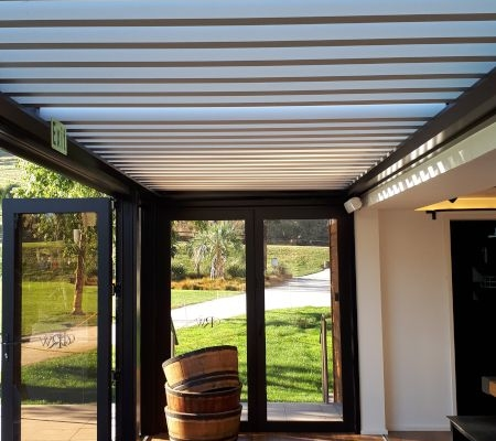 Church Road Winery Louvre Roof Project Napier Hawkes Bay by Douglas