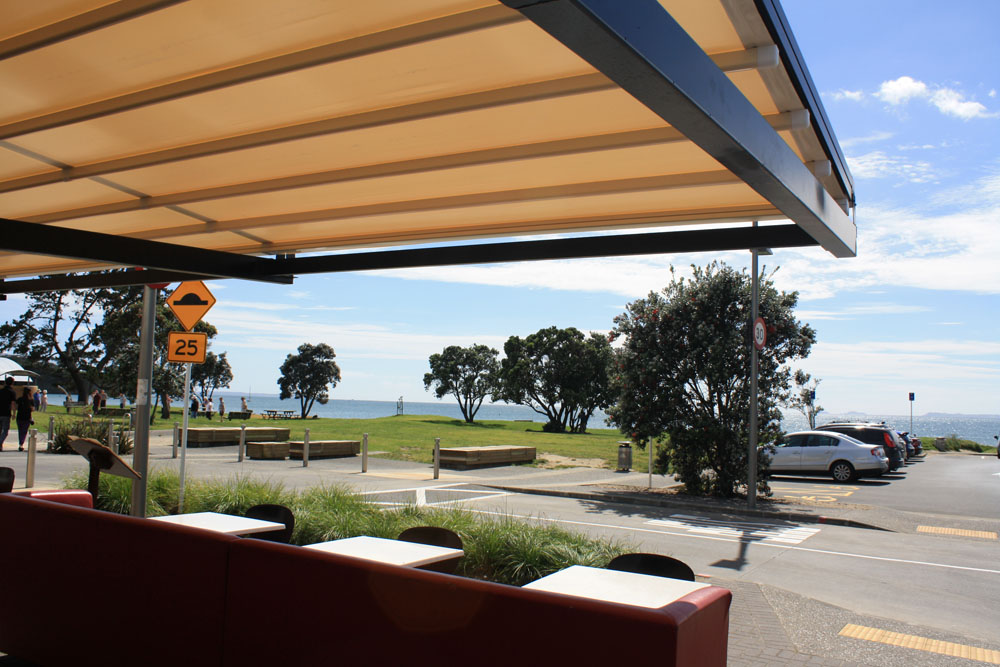 Oztech Retractable Roof hospitality installation Hawkes Bay