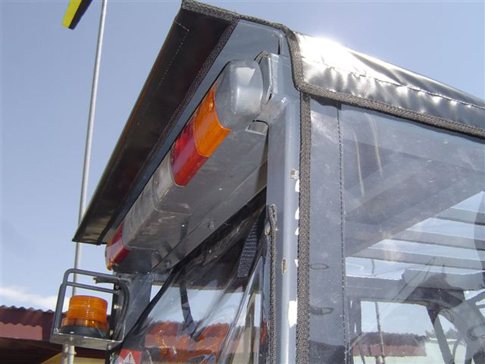 Clear PVC canopy for a forklift Hawkes Bay