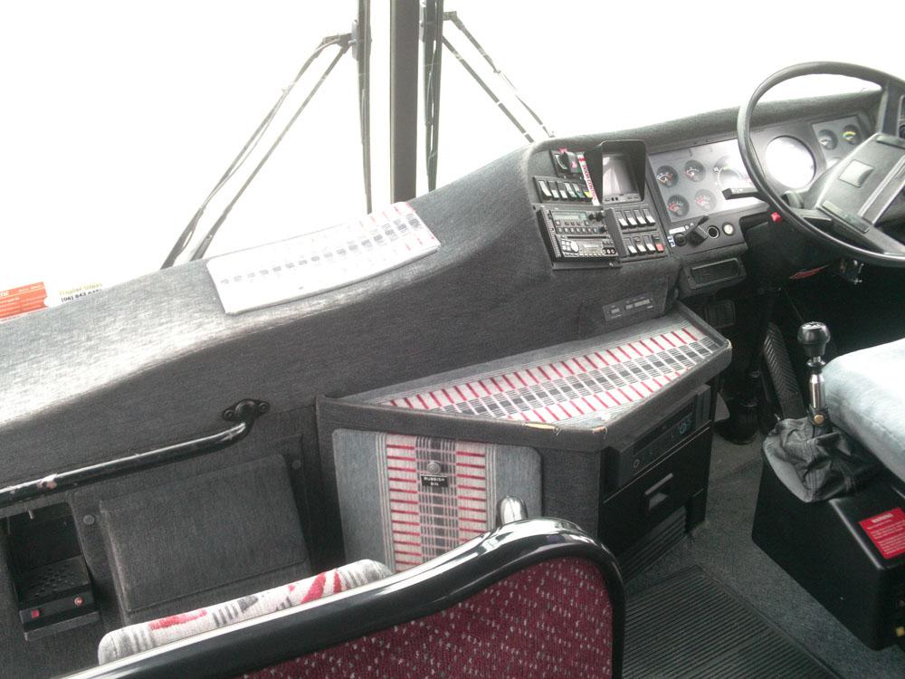 Bus vehicle interior upholstery refurbishment in Hawkes Bay