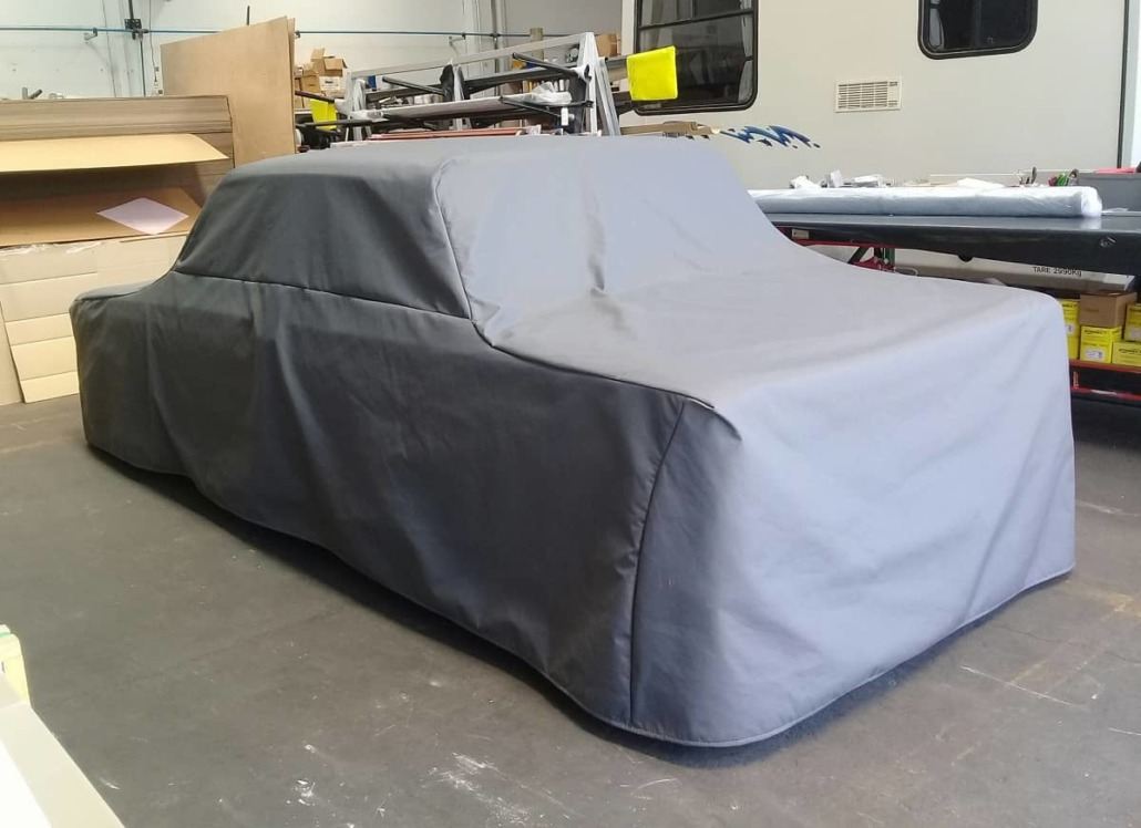 Custom car cover upholstery by Douglas Hawkes Bay NZ
