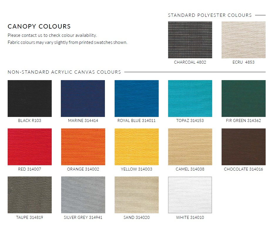 Horizon Umbrella Colours