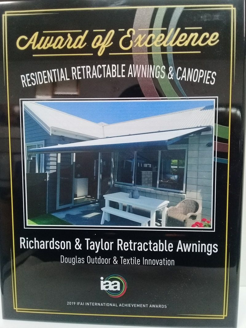 2019 IFAI IAA Retractable Outdoor Awnings Award for Excellence Photograph by Douglas Hawkes Bay