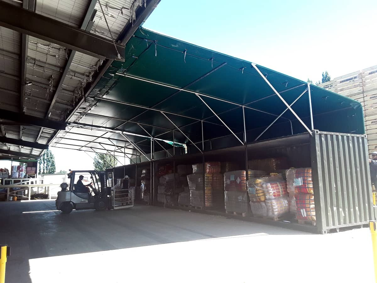 PVC Canopy for Commercial Environments in Hastings Napier and Hawkes Bay