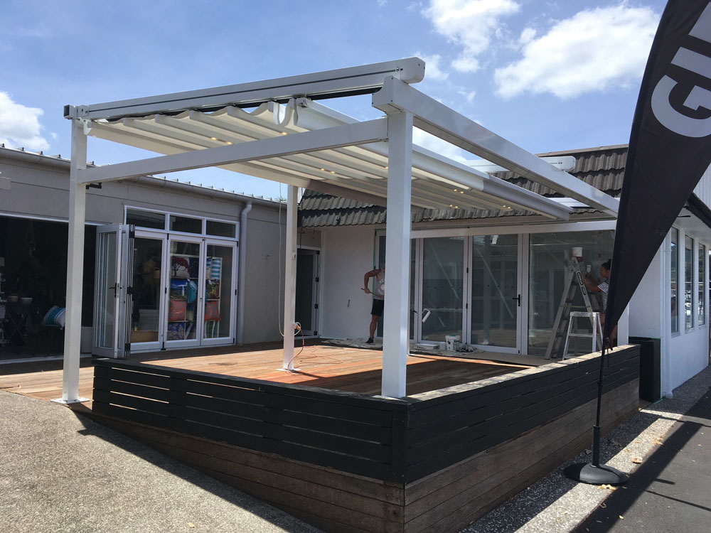 Custom pergola posts can be created to suit your deck