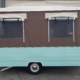 Retro pop top caravan gets a makeover by Douglas Hawkes Bay
