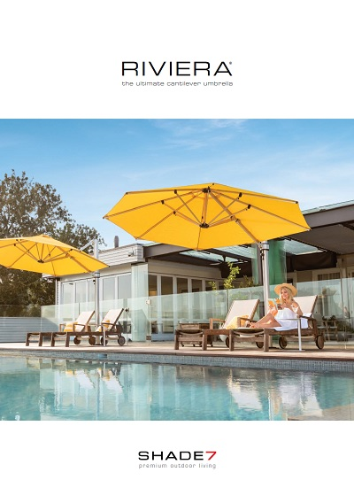 Shade 7 Riviera Umbrella Brochure Thumbnail