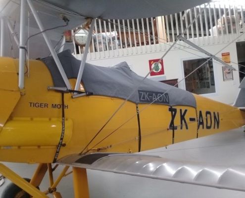 Douglas Custom Tiger Moth Plane Cover Hawkes Bay