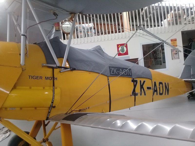 Douglas Custom Tiger Moth Plane Cover Hawkes Bay