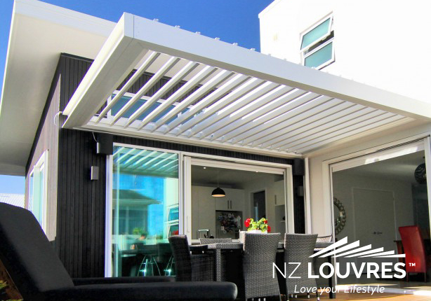 Louvre Roof by NZ Louvres and Douglas Innovation Hawke's Bay