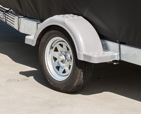 Check your boat trailer tyre and rotate them every so often