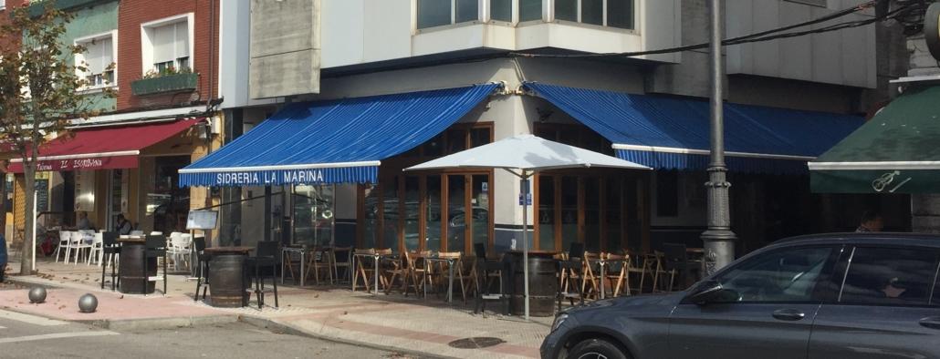 Spanish shopfront awnings provide inspiration