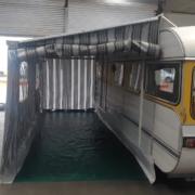 Caravan Awning doubles floor space Hawkes Bay