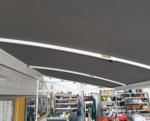 Cvana Caravan Awning Custom Installation Hastings Hawkes Bay