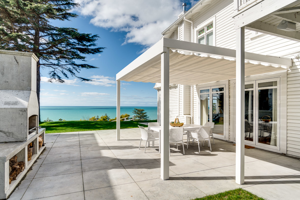 Wave Sail installation on a classic Hawkes Bay home